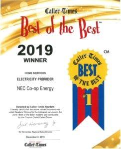Best of the Best Award 2019