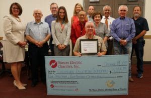 NEC Co-op Energy Contributes to Grant Donation For Local Non-Profit