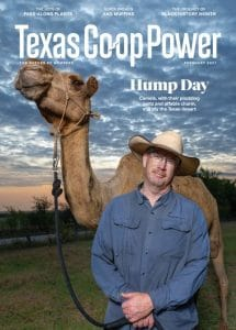 Texas Co-op Power Magazine | February 2021 Cover
