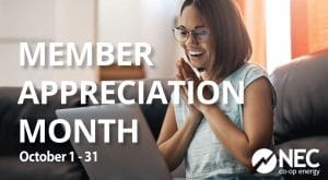 Member Appreciation Month - Oct 2020